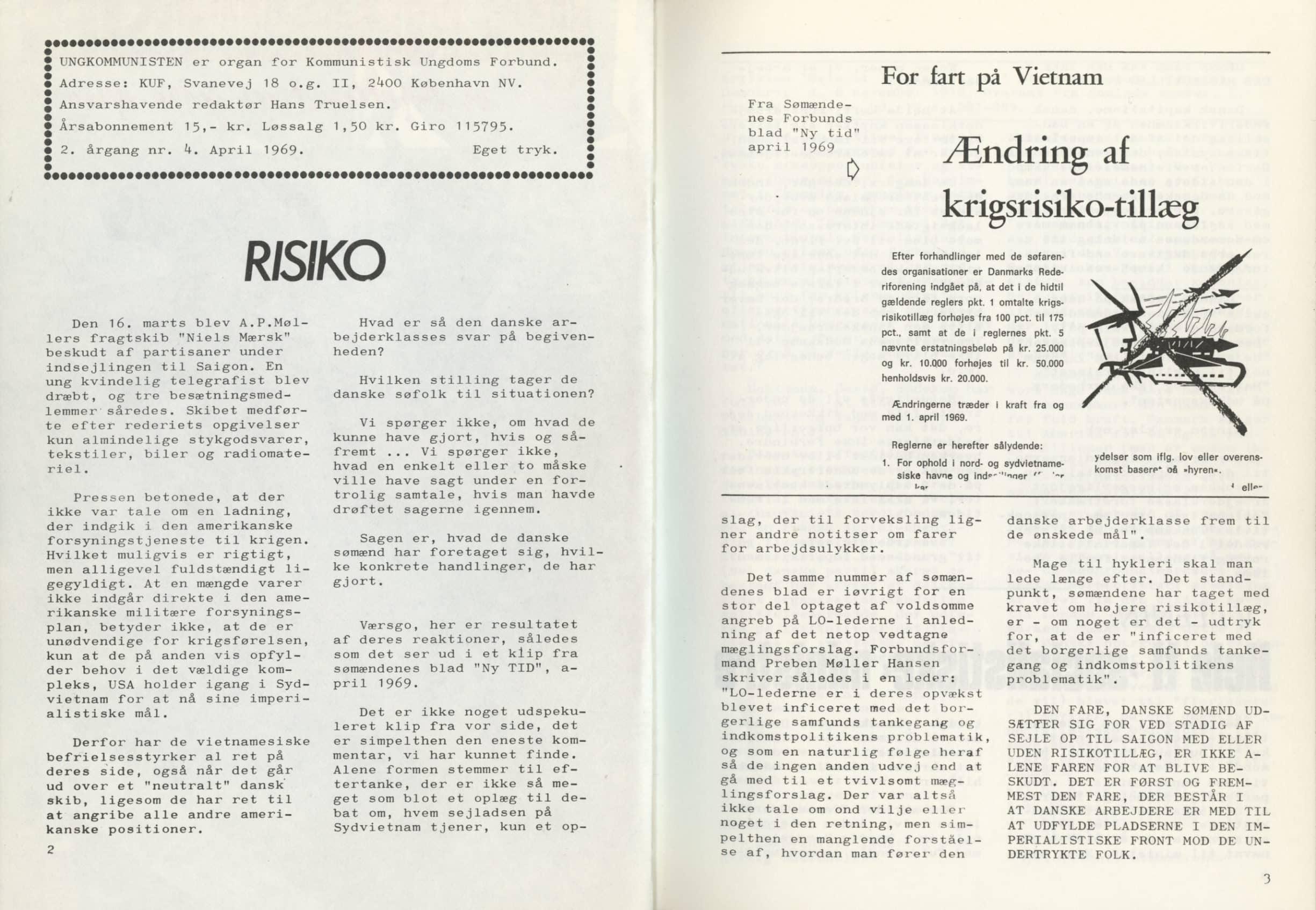 Ungkommunisten 1969, nr. 4, s. 2-3.