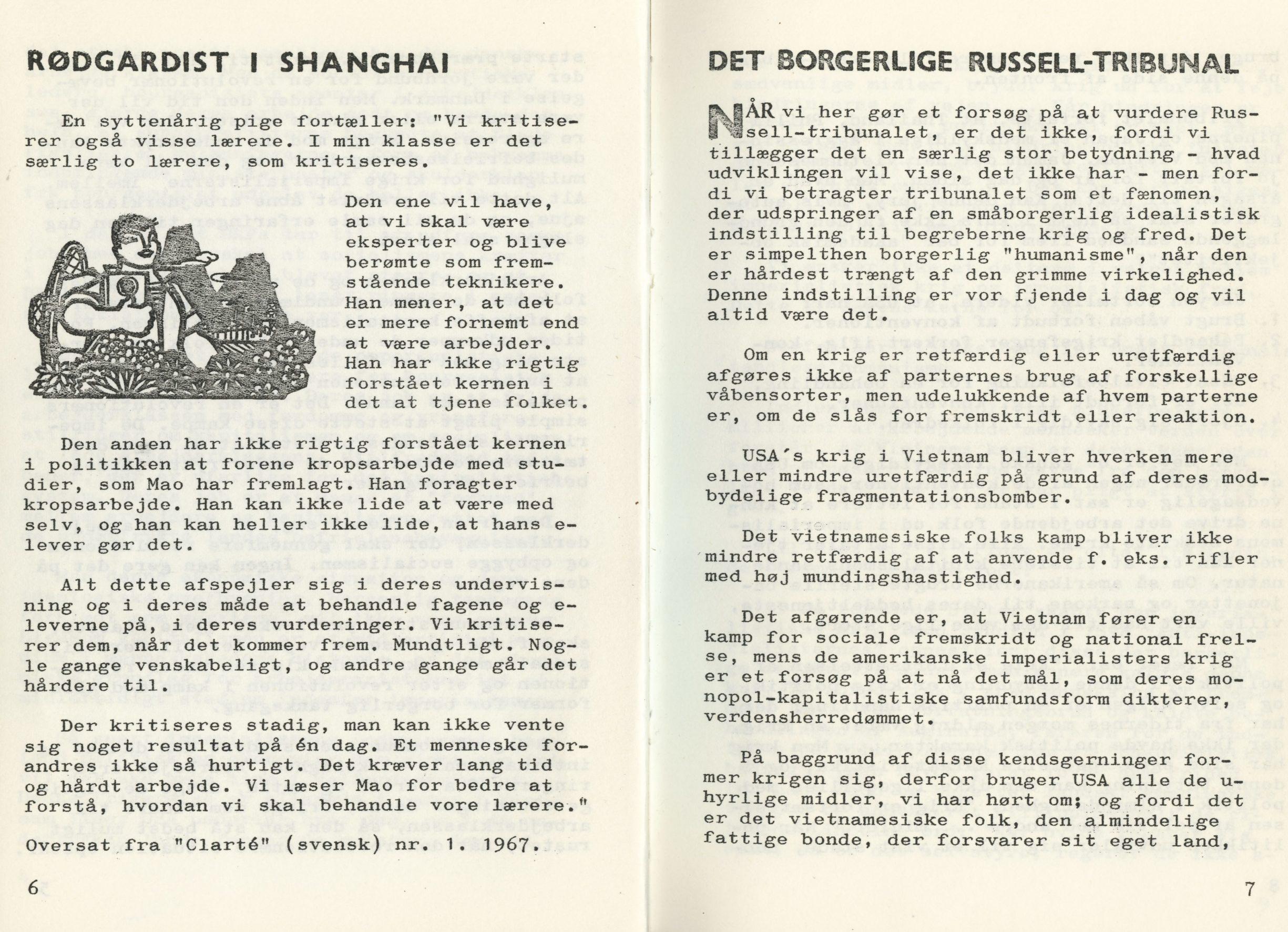 Ungkommunisten, 1. årgang, februar 1968, nr. 2, s. 6-7