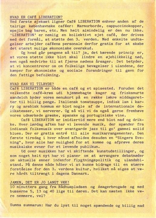 Café Liberation- folder s. 2/4