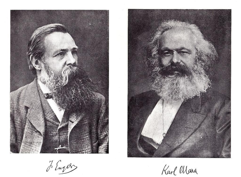 Friedrich Engels & Karl Marx