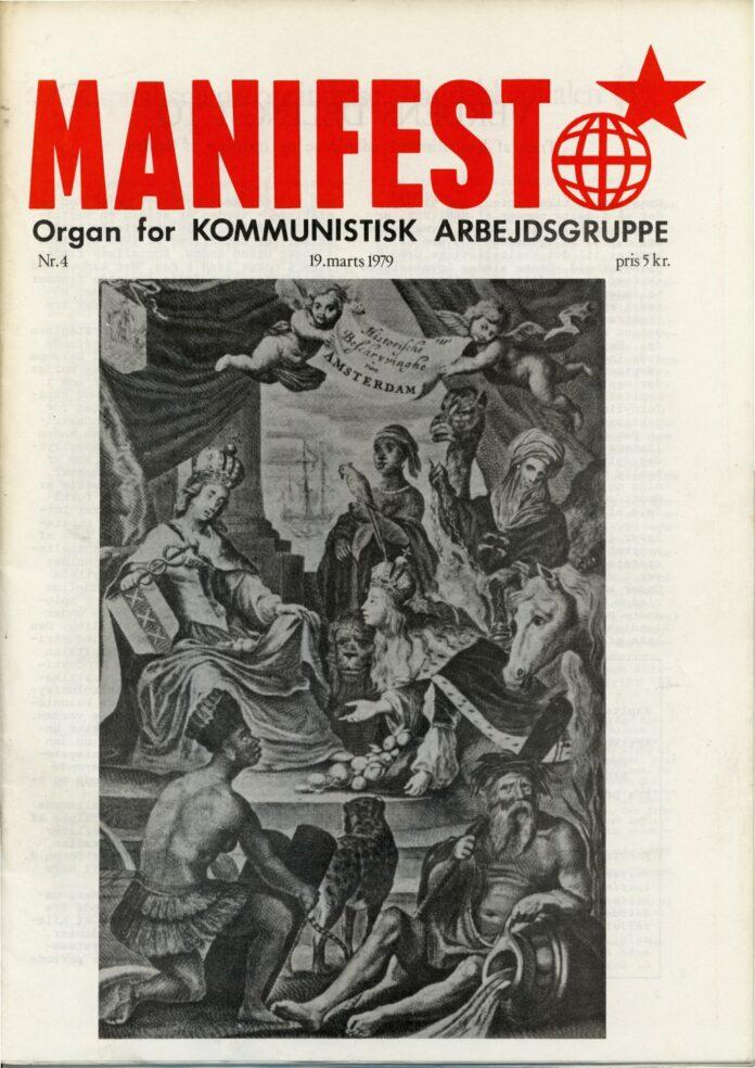 Forsiden af Manifest nr. 4, 1979