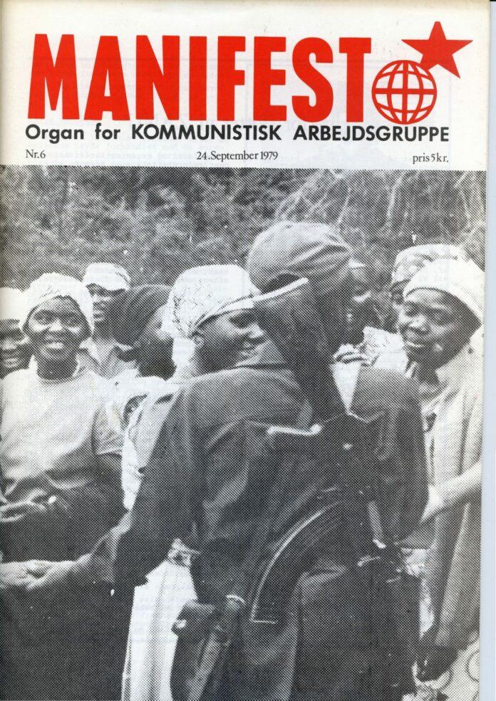 Forsiden af Manifest nr. 6, 1979.
