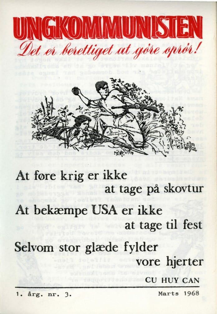 Forsiden af Ungkommunisten 1968 nr. 3