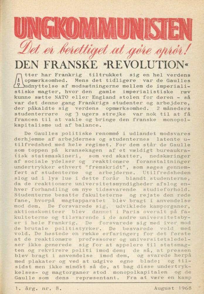 Ungkommunisten1968 nr. 8 s. 1