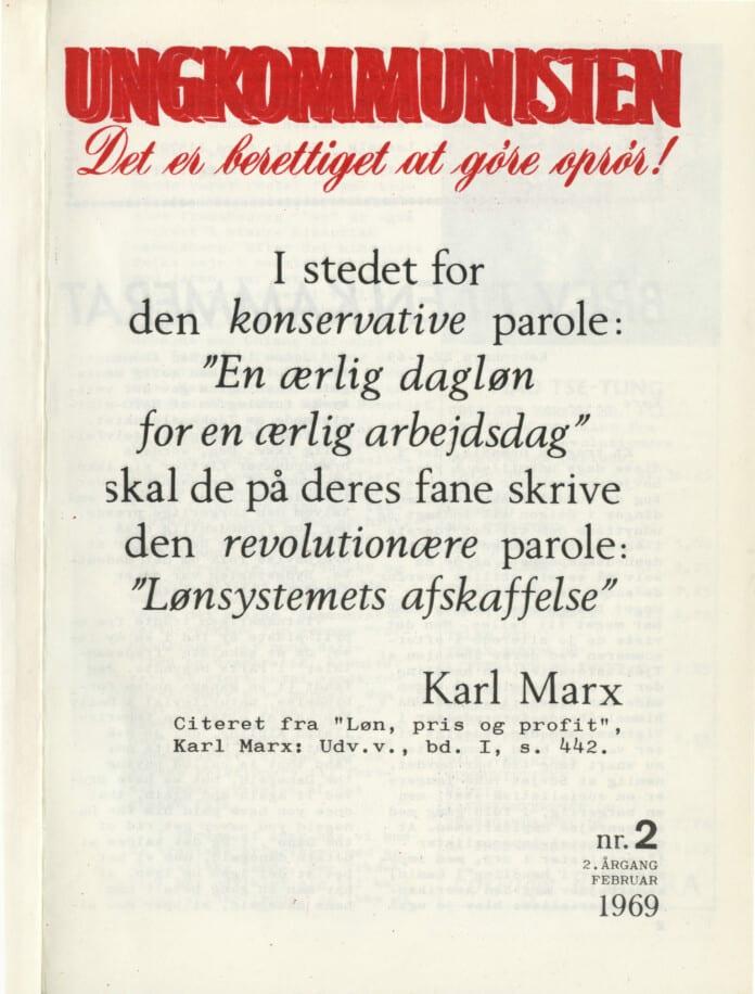 Ungkommunisten1969, nr. 2.