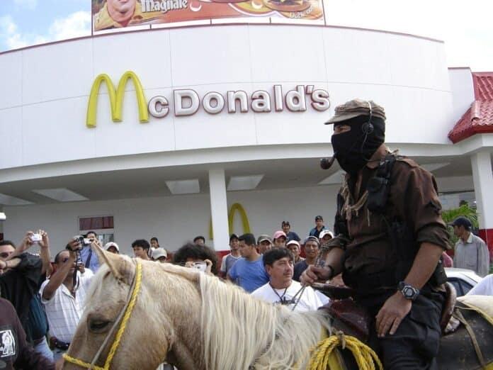 EZLN: Marcos og McDonald's. Den