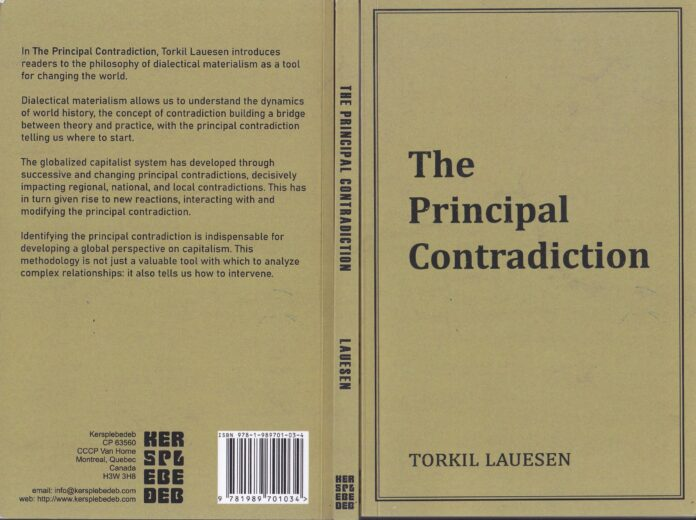 Cover of The Principal Contradiction by Torkil Lauesen